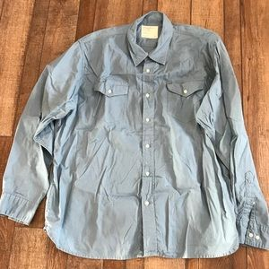 Men's wrangler button down shirt